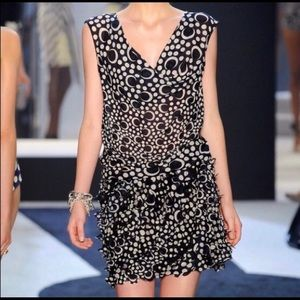 DVF NWOT PERSIA POLKA DOT DRESS